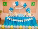 Trang trí tiệc sinh nhật cho bé trai tuổi tuất