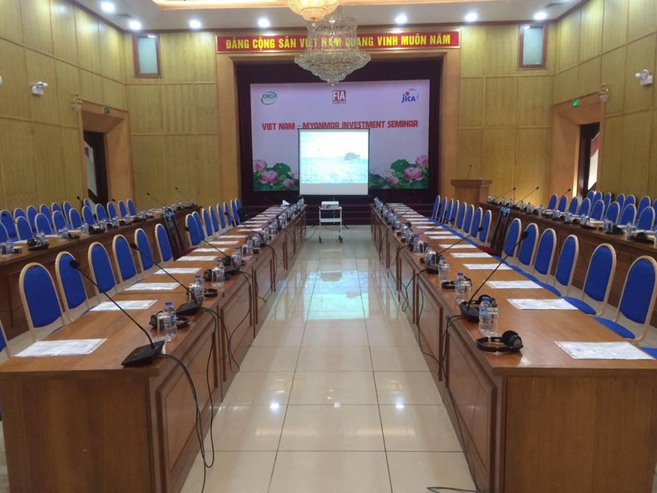 To chuc hoi nghi hoi thao hop tac dau tu Viet Nam va Myanmar